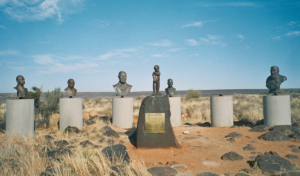 Busts-of-Afrikaner-heroes-in-Orania