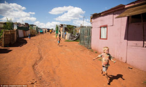 Shocking number of white squatter camps in South Africa