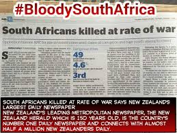 #bloodysouthafrica