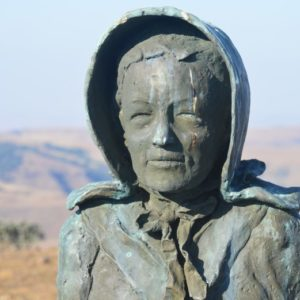 kaalvoet vroue monument