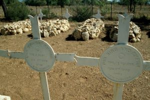 Duff and Walker's present graves at Elands River