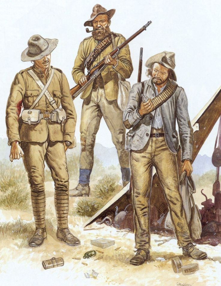 The Boers (Afrikaners)